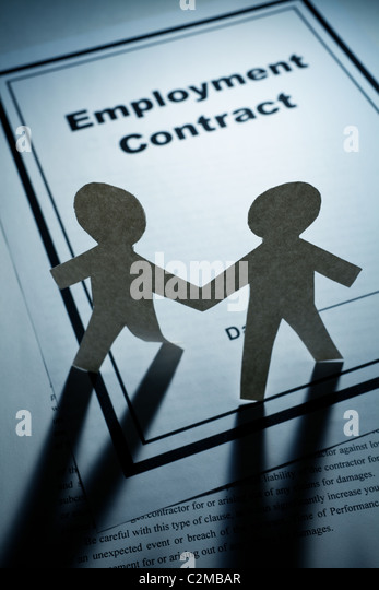 Employment Contract Stock Photos  Employment Contract Stock Images