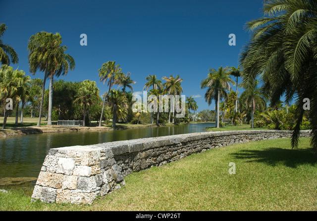 Fairchild Tropical Botanic Gardens Stock Photos