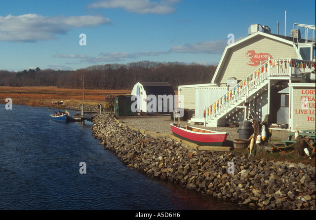 Rye pier stock photos rye pier stock images alamy for Fish shack near me