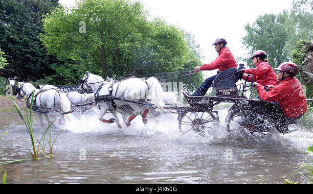 Windsor UK 13th May 2017 The Royal Horse Show At Home