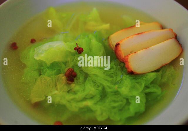 Sichuan hot pot stock photos sichuan hot pot stock for Chinese fish cake