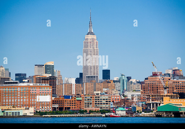 empire state building stock photos empire state building stock images alamy. Black Bedroom Furniture Sets. Home Design Ideas
