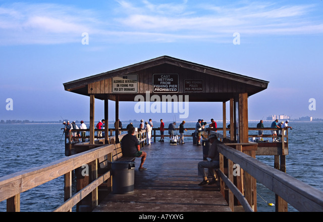 Sanibel fishing pier stock photos sanibel fishing pier for Sanibel fishing pier