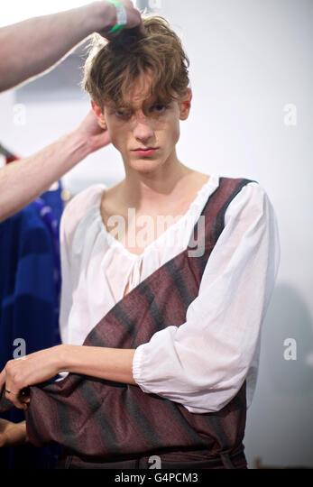 Vivienne Westwood Spring Summer Fashion Stock Photos ...