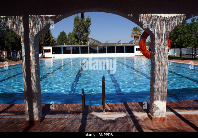 Olympic swimming pool no people stock photos olympic - How many olympic sized swimming pools in uk ...