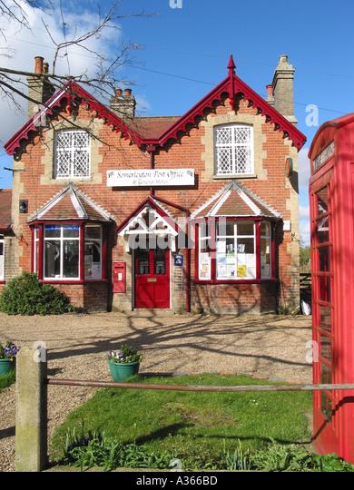 Somerleyton village stock photos somerleyton village stock images alamy - Great britain post office ...