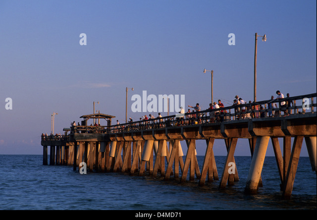 Hurricane ivan alabama stock photos hurricane ivan for Pier fishing gulf shores al