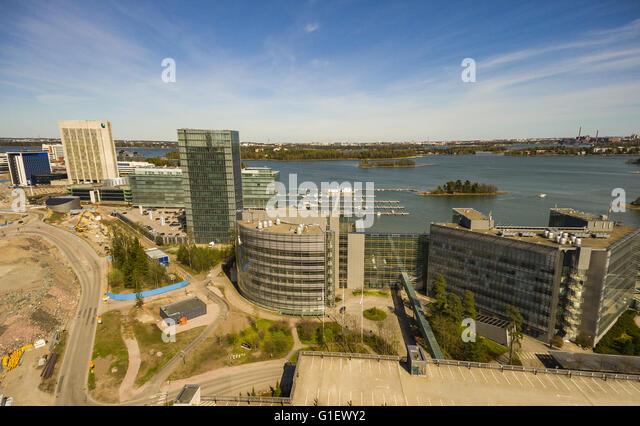 Keilaniemi, Espoo, Microsoft Headquarters   Stock Image Part 40