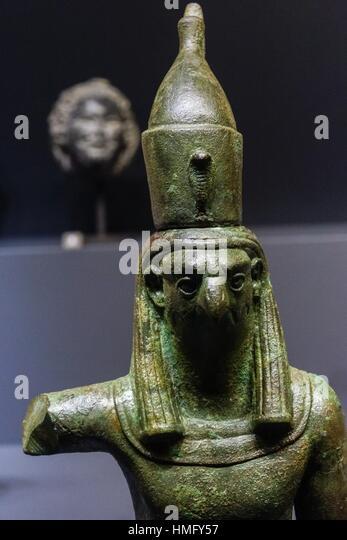 horus statue museum stock photos horus statue museum stock images alamy. Black Bedroom Furniture Sets. Home Design Ideas