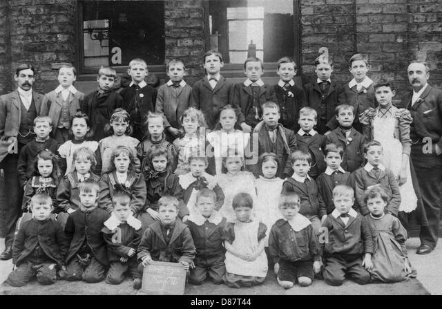 School Photograph Black And White Stock Photos Images Alamy
