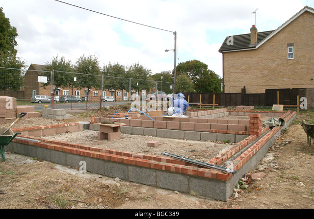 A Building Site In The UK