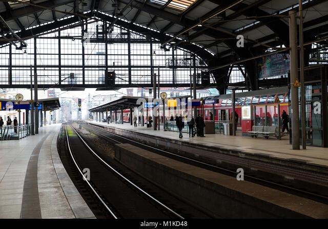 German Railway Station Track Stock Photos German Railway