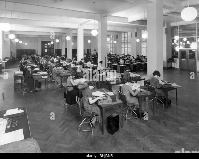 1930s house interiors. Interior of Unilever House  London 1930s Artist Fox Photos Stock Image Images Alamy