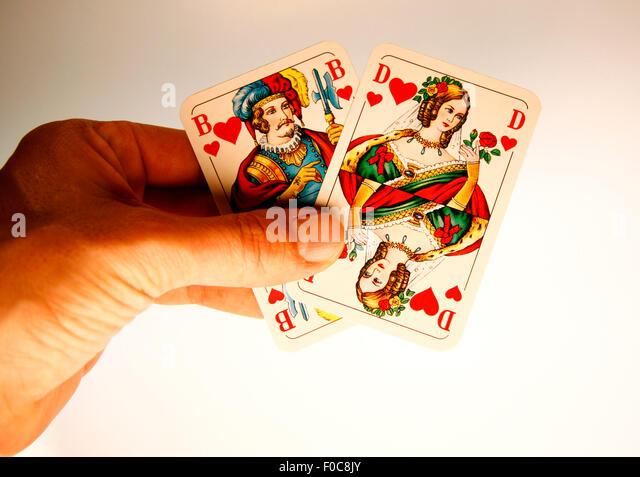 herz kartenspiel
