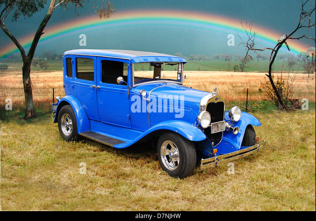 Ford model a sedan stock photos ford model a sedan stock for 1930 model a 4 door sedan