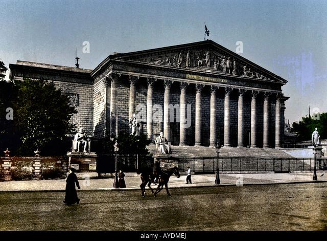 France paris feature stock photos france paris feature for Chambre de deputes luxembourg