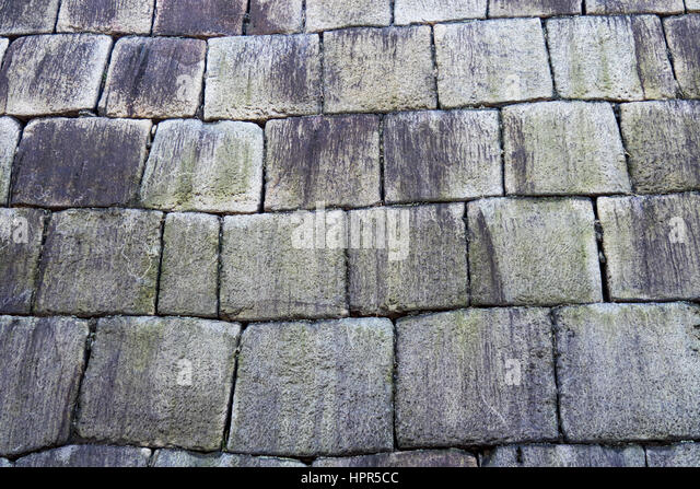 Granite Stone Foundation : Edo stock photos images alamy