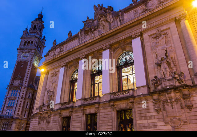 Opera de lille stock photos opera de lille stock images for Chamber of commerce france