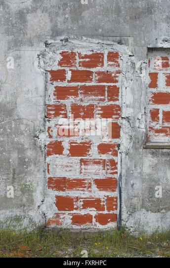 A bricked up doorway - Stock Image & Bricked Up Door Stock Photos \u0026 Bricked Up Door Stock Images - Alamy Pezcame.Com