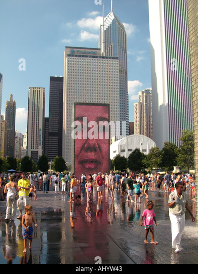Mural stock photos mural stock images alamy for Mural in chicago illinois
