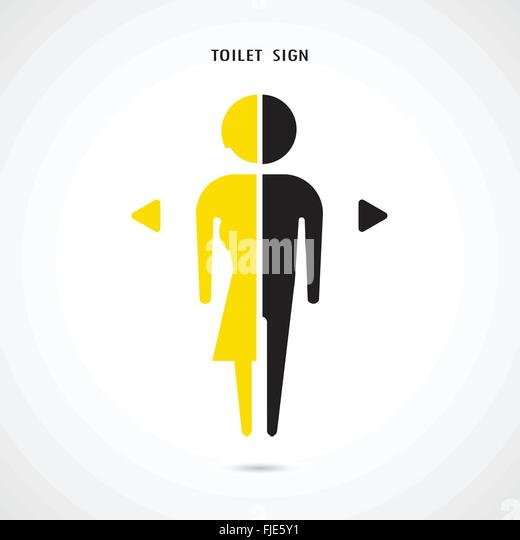 Man and woman toilet sign  restroom symbol   Vector illustration   Stock  Image. Toilet Vector Vectors Stock Photos   Toilet Vector Vectors Stock