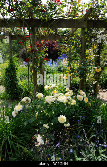 Rose Arbour Stock Photos Amp Rose Arbour Stock Images Alamy