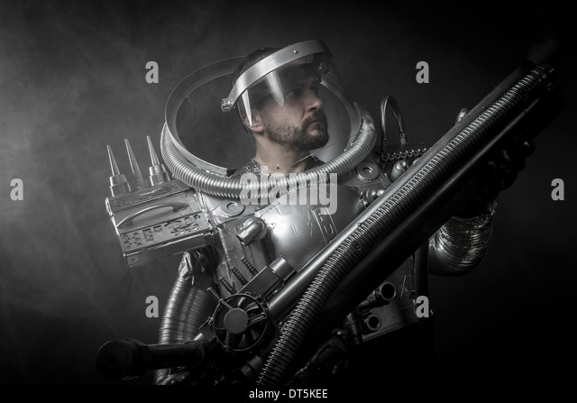 astronaut with weapon - photo #17