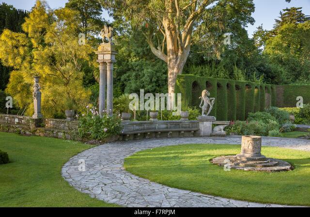 The Formal Garden At Mount Stewart, County Down. Mount Stewart Has Been  Voted One