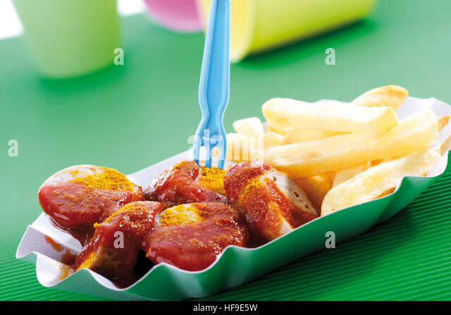how to cook currywurst sausage