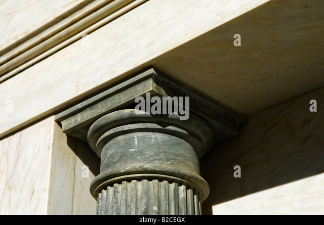 Black Marble Buildings : Chapiter stock photos images alamy
