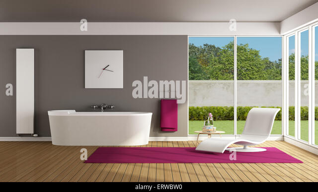 Chaiselounge stock photos chaiselounge stock images alamy for Bathroom chaise lounge