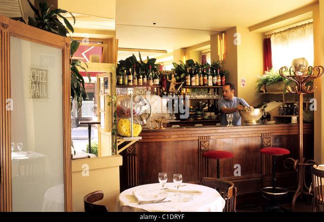 Butte aux cailles district stock photos butte aux - Restaurant butte aux cailles ...