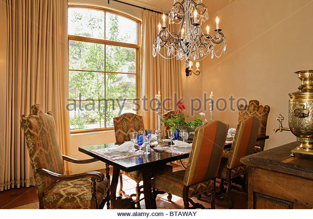 dining room table chairs stock photos dining room table