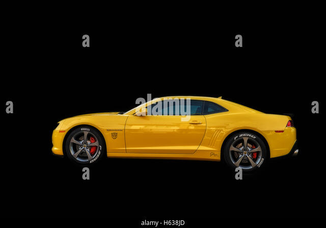 American Car And Isolated Background Stock Photos