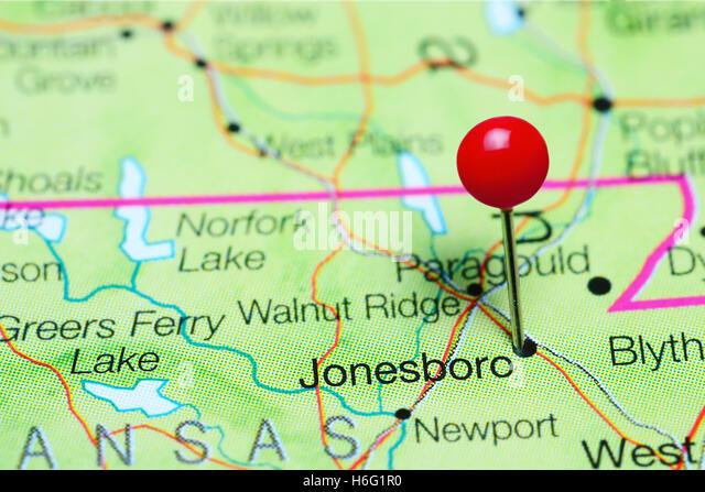 Jonesboro Arkansas Stock Photos Jonesboro Arkansas Stock Images - Arkansas map usa