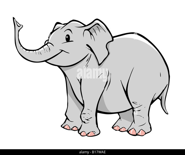 how to eat an elephant cartoon