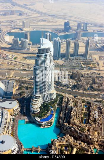 Al bahar towers stock photos al bahar towers stock for Burj al khalifa hotel