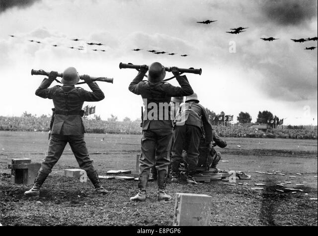 Image result for hitler flypast 1936