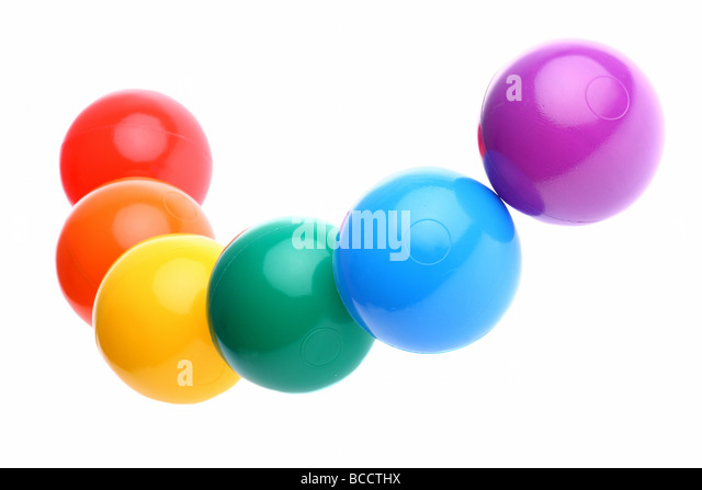 Plastic Toy Balls : Plastic toy balls stock photos