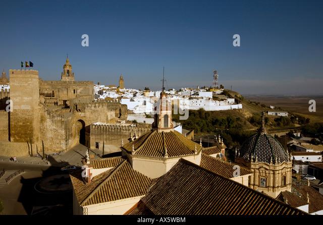 View historic centre in carmona stock photos view - Puerta de sevilla carmona ...