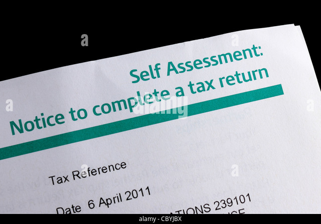 how to complete self assessment tax return online