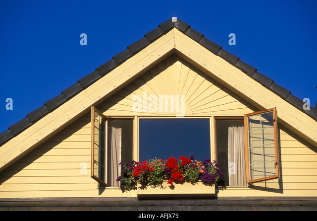 Front Exterior Craftsman Style Home Stock Photos Front