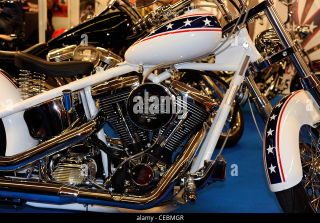 Evel Knievel Harley Davidson Chopper Photograph By Frank: Knievel Stock Photos & Knievel Stock Images