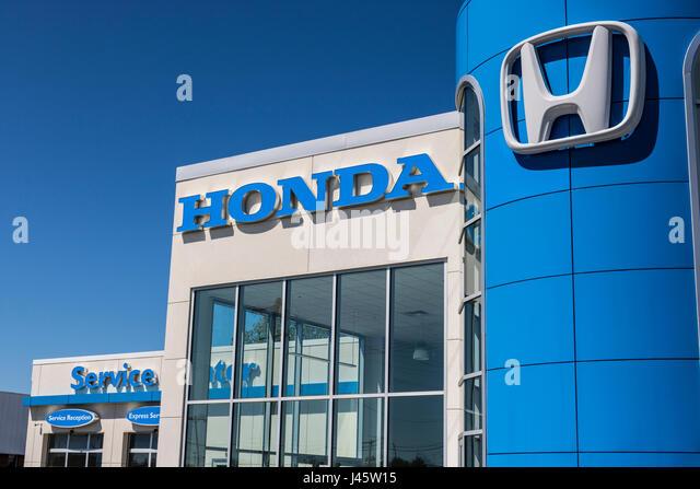 Honda fit stock photos honda fit stock images alamy for Honda motor company stock