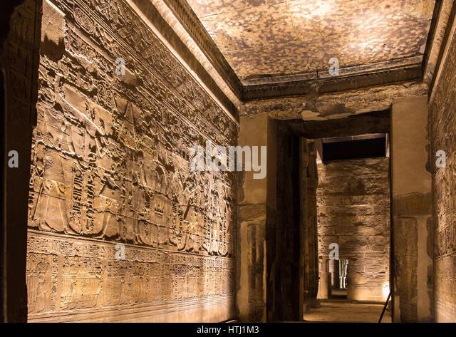 Egyptian hieroglyphs alphabet stock photos
