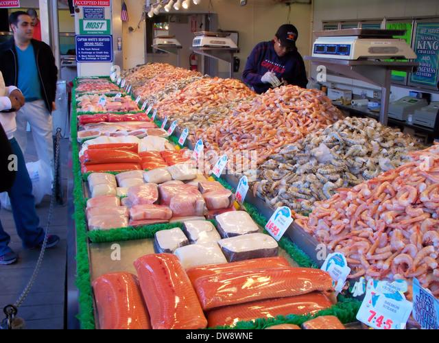 Fish market washington d c stock photos fish market for Washington fish market