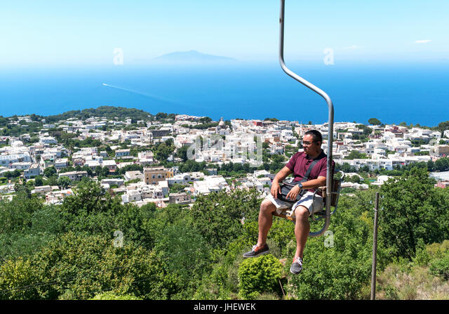Summit Chair Lift chairlift stock photos & chairlift stock images - alamy