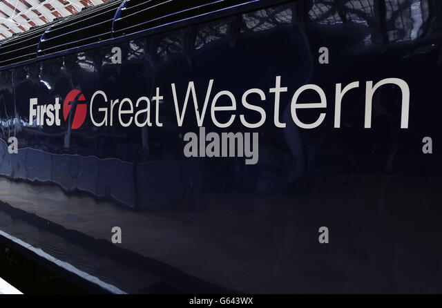 First Great Western Logo Stock Photos Amp First Great