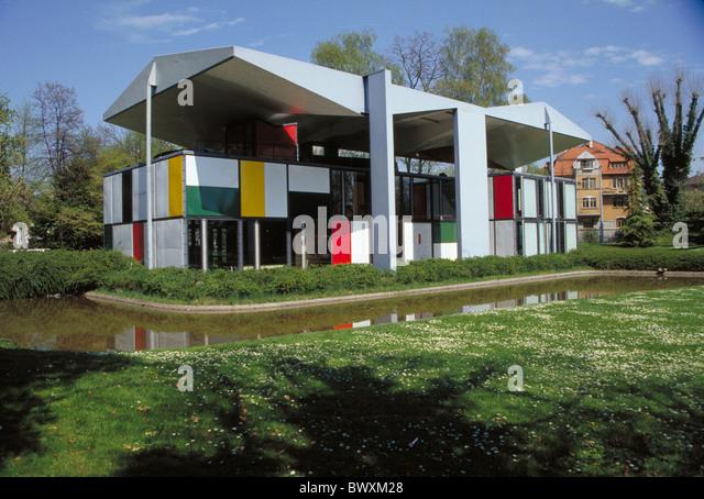 Corbusier house stock photos corbusier house stock for Modern house zurich