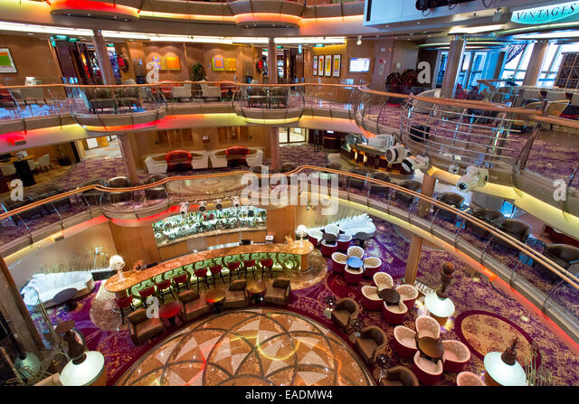 Inside Cruise Ship Lobby Stock Photos Inside Cruise Ship Lobby - Pictures of the inside of a cruise ship